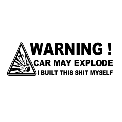 WARNING - Explosion