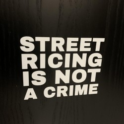 Sticker Street Ricing Is...