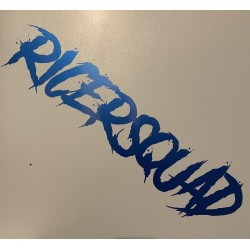 Lettering Blue RS