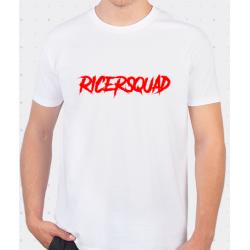 T-Shirt Blanc RicerSquad AD