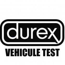 Durex Véhicule Test