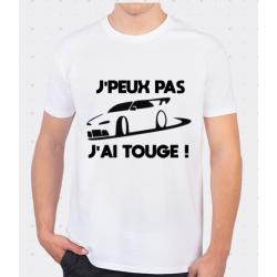 T-shirt J'peux pas j'ai Touge