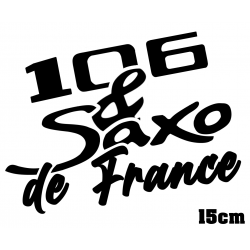 106 ph.1 & Saxo de France 15cm