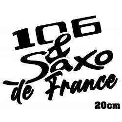 106 ph.1 & Saxo de France 20cm