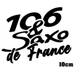 Sticker 106 & Saxo de France