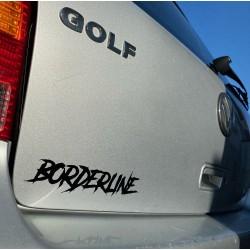Sticker section Borderline
